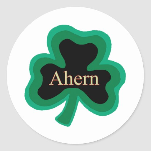 Ahern Family Stickers