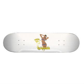 Ahh Summer Beach Bikini Girl Skate Boards