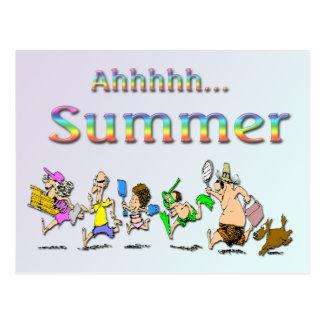 Ahhhh! Summer Postcard