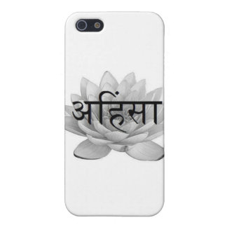 Ahimsa Lotus Flower iPhone 5/5S Cover
