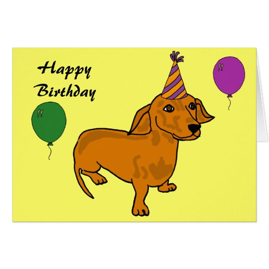 AHL- Happy Birthday Wiener Cards