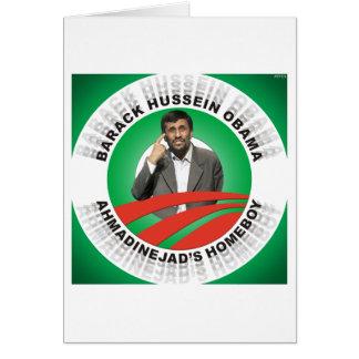 Ahmadinejads Homeboy Greeting Cards