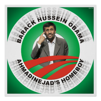 Ahmadinejads Homeboy Poster