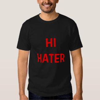 "AhMAZiNG ""Hi Hater Bye Hater"" mens'/womens' tee"