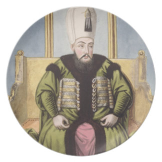 Ahmed I (1590-1617) Sultan 1603-17, from 'A Series Plate