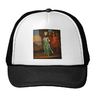 AHMED III AND HIS RETINUE MESH HATS