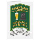 Ahnentafel Arms Genealogy Bar & Grill. Cards