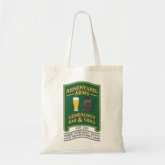 Ahnentafel Arms Genealogy Bar & Grill. Tote Bag
