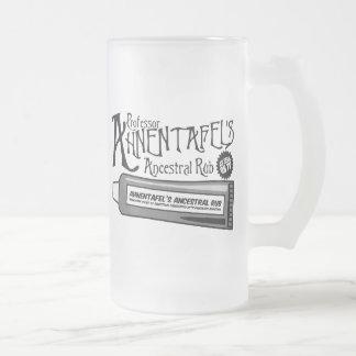 Ahnentafel's Ancestral Rub Frosted Glass Mug