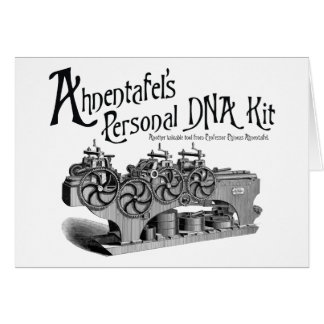 Ahnentafel's Personal DNA Kit Card