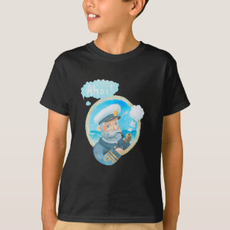 Ahoi Naval Captain Kids T-Shirt