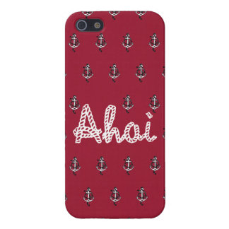 *Ahoi rot* iPhone 5 Cases