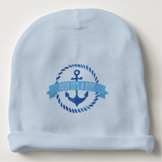 'Ahoy It's a Boy' Baby hat Baby Beanie