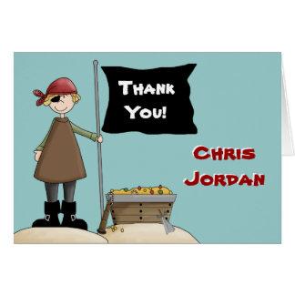 Ahoy Mate Thank You Card