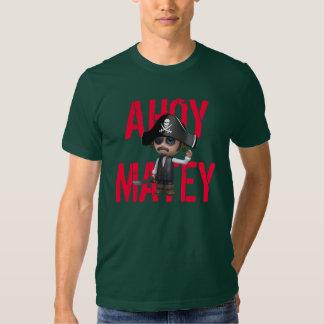Ahoy Matey 3d Pirate Shirts