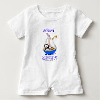 Ahoy Matey! Baby Bodysuit