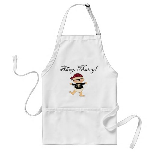 Ahoy Matey Baby Pirate Apron Apron