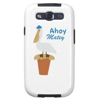 Ahoy Matey Galaxy S3 Cases