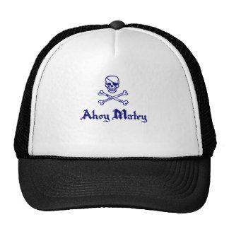 Ahoy Matey Mesh Hat