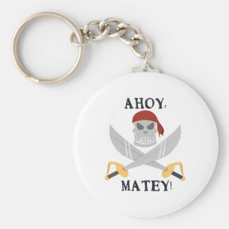 Ahoy Matey Keychains