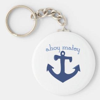 Ahoy Matey Key Chain