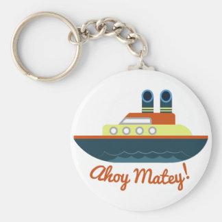 Ahoy Matey Keychain
