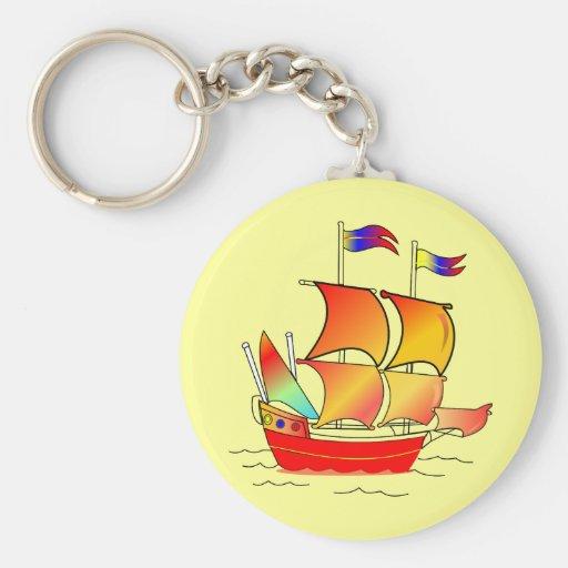 Ahoy, Matey! Keychain