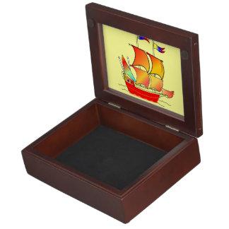 Ahoy, Matey! Memory Boxes