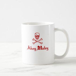 Ahoy Matey Mugs