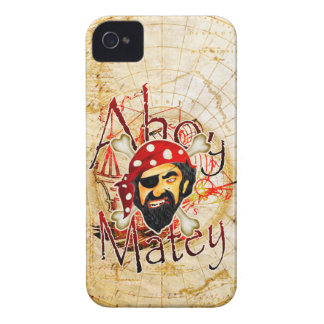 Ahoy Matey Pirate iPhone 4 cases