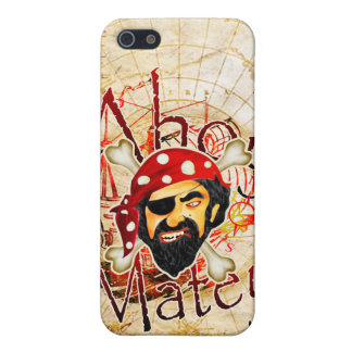 Ahoy Matey Pirate iPhone 5/5S Cases