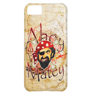 Ahoy Matey Pirate iPhone 5 cases