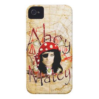 Ahoy Matey Pirate photo BlackBerry case