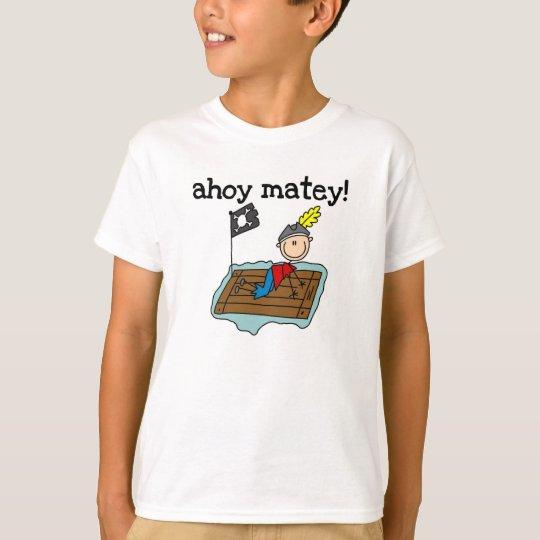 Ahoy Matey Pirate T-Shirt