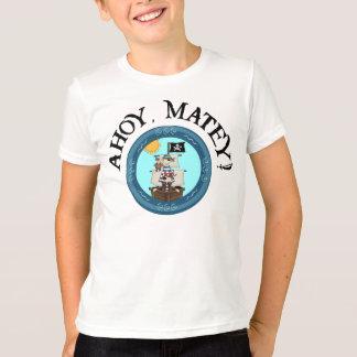 Ahoy Matey Ringer Tee