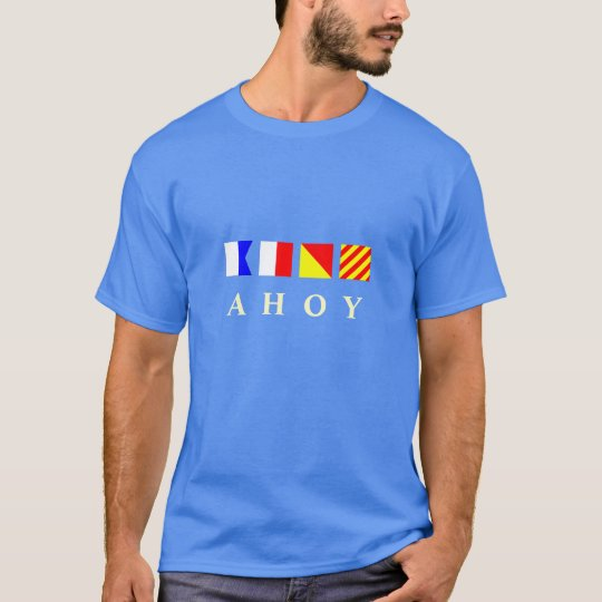 Ahoy Nautical Flags T-Shirt