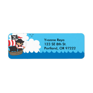 Ahoy! Return Address Label