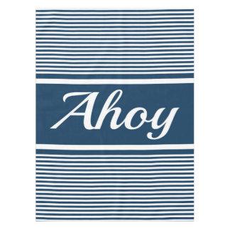 Ahoy Tablecloth