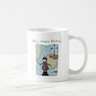 Ahoy there Matey! Basic White Mug