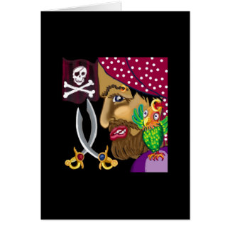 Ahoy there, shipmate! greeting card