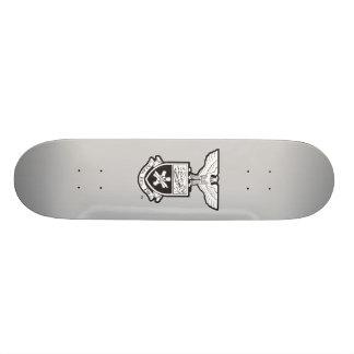 AHP Crest - B W Skate Deck