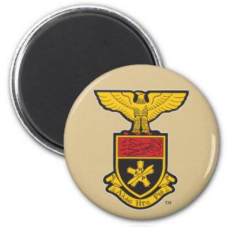AHP Crest - Color 6 Cm Round Magnet