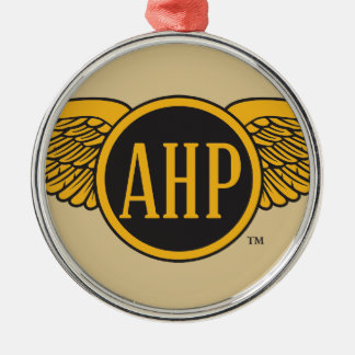 AHP Wings - Color Silver-Colored Round Decoration