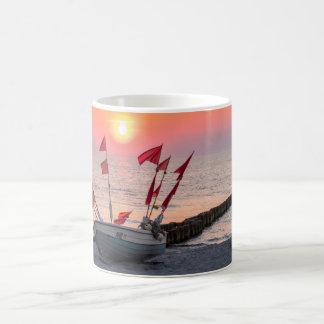 Ahrenshoop sunset coffee mug