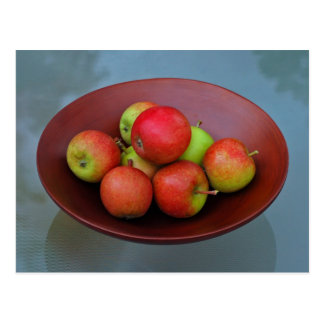 Ahrista Apples In Bowl Postcards