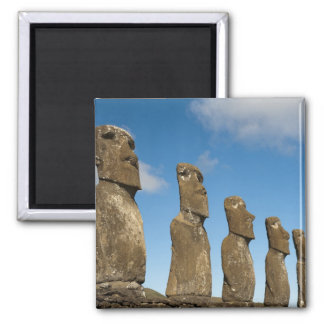Ahu Akivi, Rapa Nui, Easter Island, Chile 2 Magnet