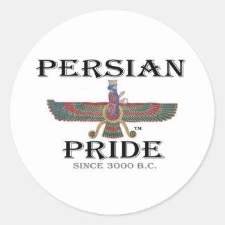 Ahura Mazda - Persian Pride Classic Round Sticker