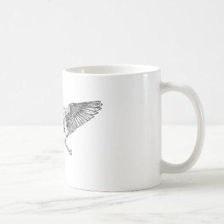 Ahura winged disk skull mug