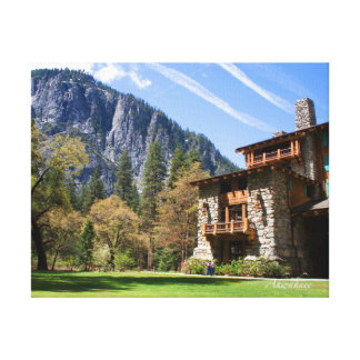 Ahwahnee Stretched Canvas Prints