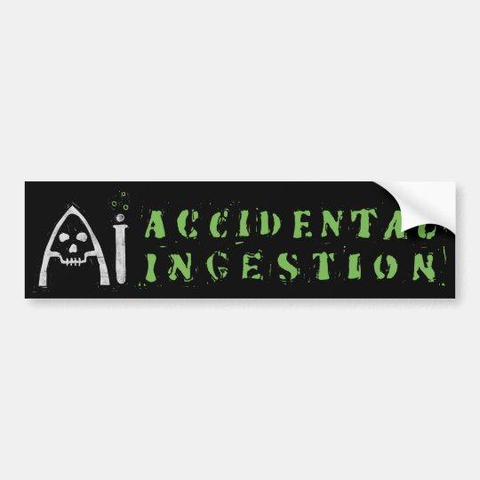 AI Bumper Sticker (Black)